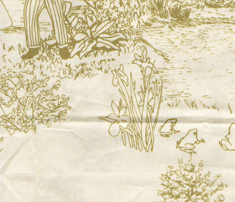 The Frog Prince Fairytale Toile