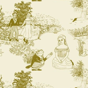 The Frog Prince Fairytale Toile Petite