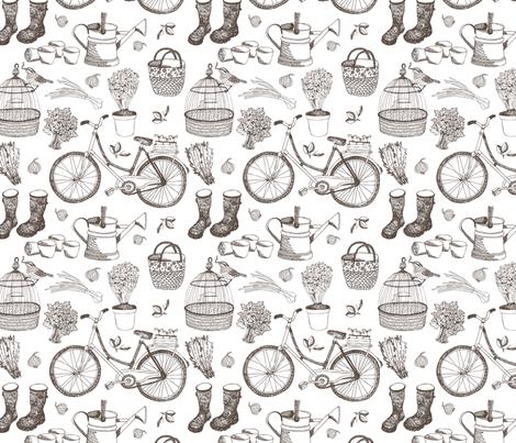 Garden_pattern fabric by nenilkime on Spoonflower - custom fabric