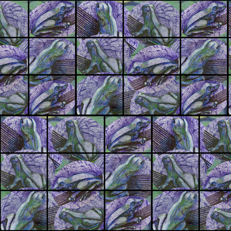 Frog_Fabric_final fabric by deborah_haverty on Spoonflower - custom fabric