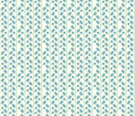 mod_flower_vert_S fabric by nadja_petremand on Spoonflower - custom fabric
