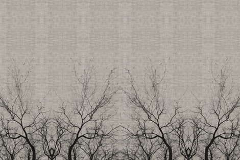 Arbor Horizontal fabric by brainsarepretty on Spoonflower - custom fabric