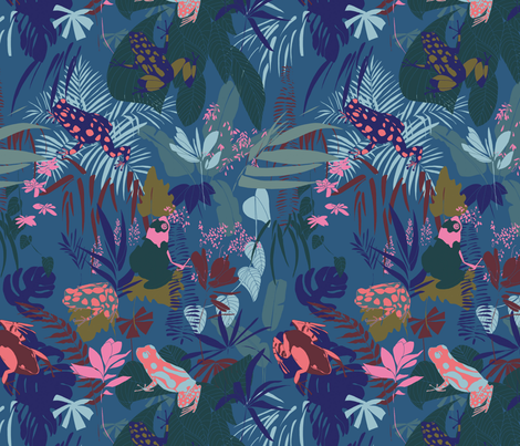 EteTropical01 fabric by rouge_pivoine on Spoonflower - custom fabric