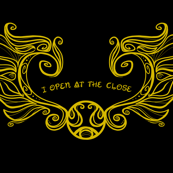 I open at the Close Black