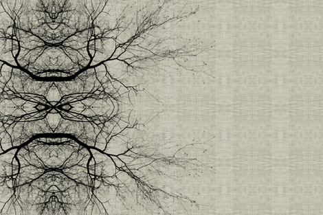 Arbor Vertical fabric by brainsarepretty on Spoonflower - custom fabric