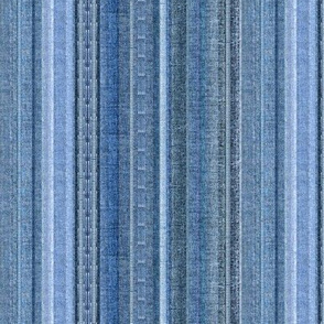Faded Denim stripe