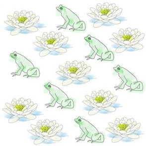 Frog & Lily