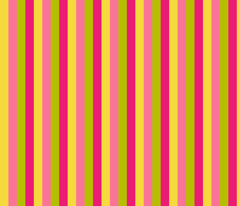 Pink Lemonade Stripe fabric by mariafaithgarcia on Spoonflower - custom fabric