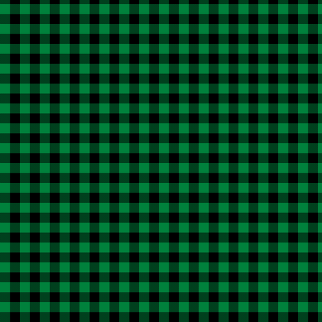 sable and deep green gingham fabric by weavingmajor on Spoonflower - custom fabric