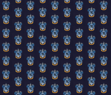 Ravenclaw fabric by buttonmushroom on Spoonflower - custom fabric