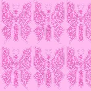 ButterflyDancer - xl - hot pink & cotton candy