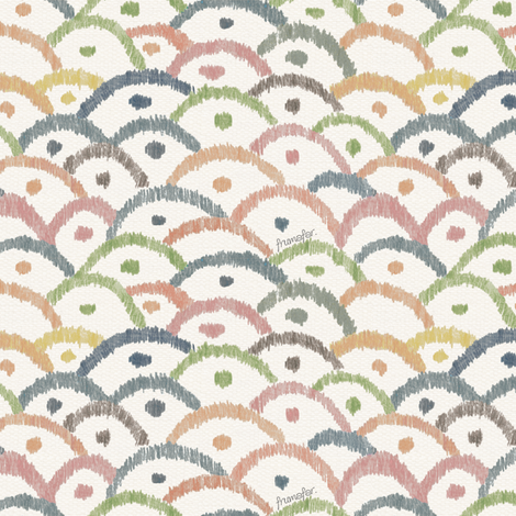 O'sakana Uroco  fabric by frumafar on Spoonflower - custom fabric