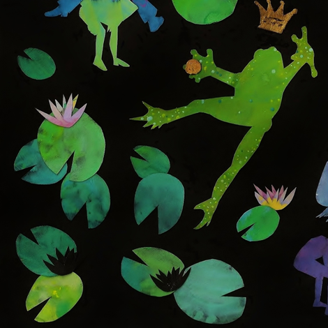 frog rhapsody fabric by ichfressedichauf on Spoonflower - custom fabric