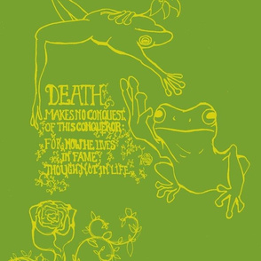 Frog Eulogy