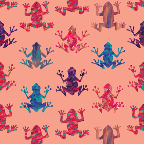 Lost leapers fabric by demouse on Spoonflower - custom fabric