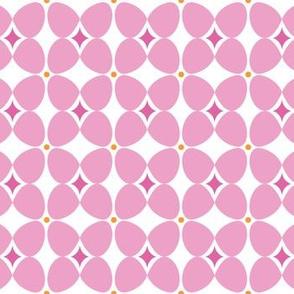 Mod Flora {White/Pink}