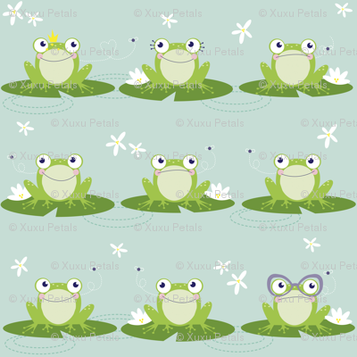 Frogs, Flies and Flowers