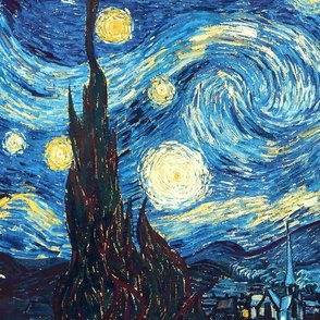 Starry Night (left)