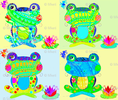 frogs of the season