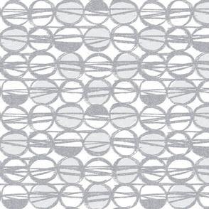 Sketchy gray MCM dots