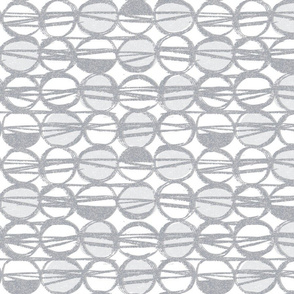 Sketchy gray MCM dots-retro