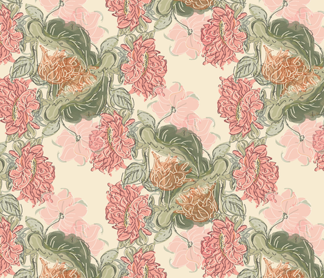 Rosea_classic fabric by mayacoa on Spoonflower - custom fabric
