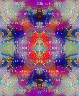 Flowers  Abstract Kaleidoscope