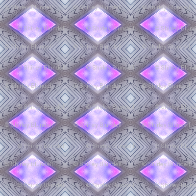 diamonds - mauve