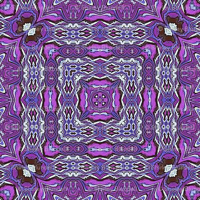 Mokume Gane  Liquified - Purple