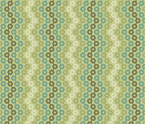 Molecular Impossibility fabric by sarahjohnston on Spoonflower - custom fabric