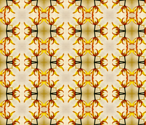 Falling Petals fabric by koalalady on Spoonflower - custom fabric