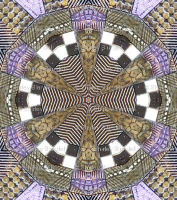 Mosaic Tile kaleidoscoped