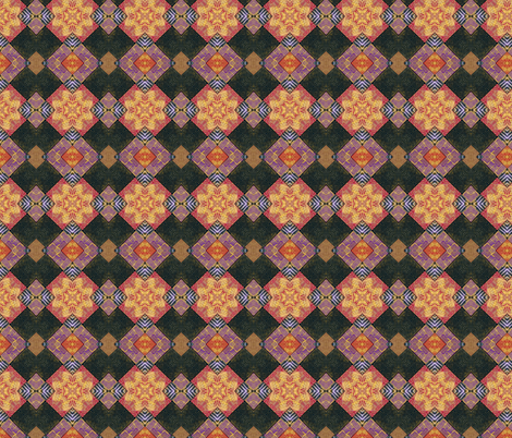 Mosaic Tile kal 2 fabric by koalalady on Spoonflower - custom fabric