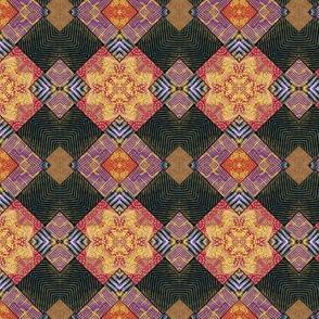 Polymer Clay-Mosaic Tile kal 2