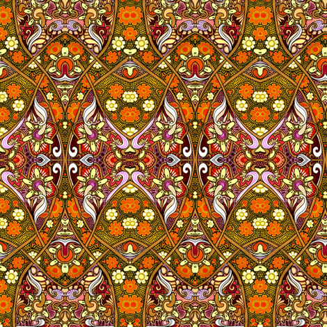 The Golden Years fabric by edsel2084 on Spoonflower - custom fabric