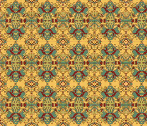 Brocade-ish fabric by relative_of_otis on Spoonflower - custom fabric