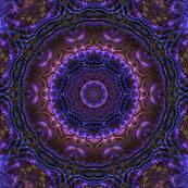 Blue Purple 3d Fractal