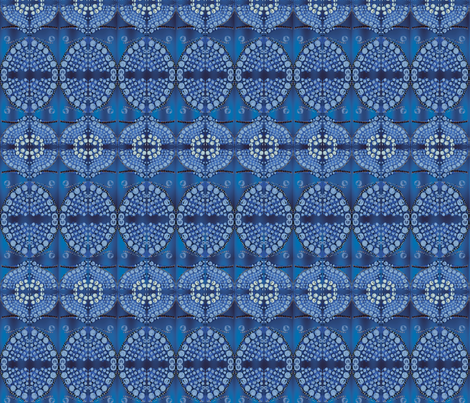 blue_circle fabric by tat1 on Spoonflower - custom fabric