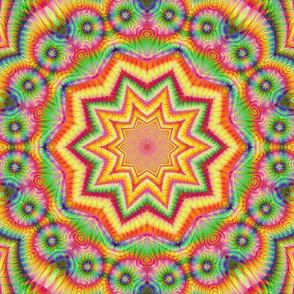 Rainbow Fractal Tile 287
