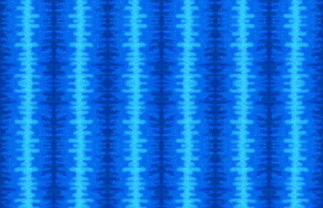 Blue alien skin fabric by makersway on Spoonflower - custom fabric