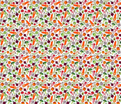 ratatouille fabric by suestrobel on Spoonflower - custom fabric