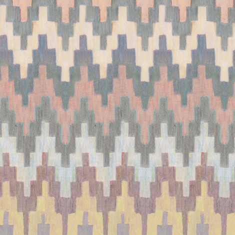 ziggurat fabric by frumafar on Spoonflower - custom fabric