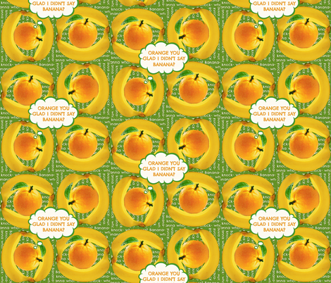 Knock Knock fabric by whimzwhirled on Spoonflower - custom fabric