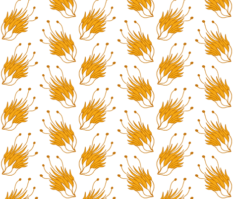 flowers fabric by mummysam on Spoonflower - custom fabric