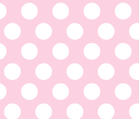 indian princess dots large pink fabric by juneblossom on Spoonflower - custom fabric