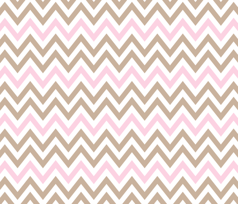 indian princess chevron 2 fabric by juneblossom on Spoonflower - custom fabric