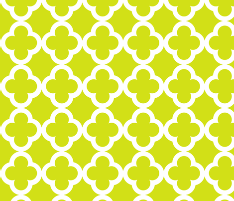 simple_tiling_lime fabric by juneblossom on Spoonflower - custom fabric
