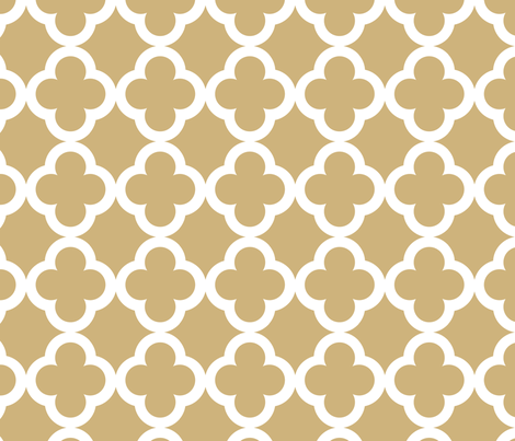 simple_tiling_camel brown fabric by juneblossom on Spoonflower - custom fabric