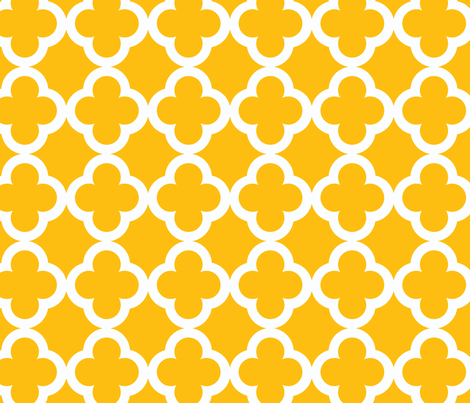 simple_tiling_lemon yellow fabric by juneblossom on Spoonflower - custom fabric