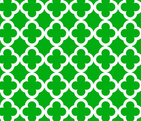 simple_tiling_emerald fabric by juneblossom on Spoonflower - custom fabric